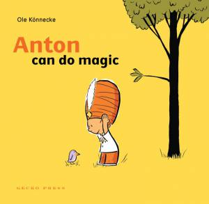 Anton can do magic book, Ole Konnecke, picture book for kids, book about magic