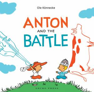 Anton and the battle book, Ole Konnecke, picture book for kids,