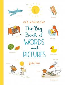 The big book of words and pictures, Ole Konnecke, boardbook for preschoolers