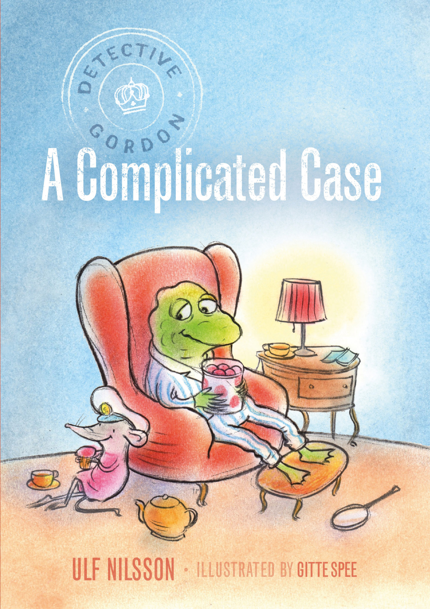 detective gordon a complicated case book, Ulf Nilsson, Gitte Spec, chapter books for kids