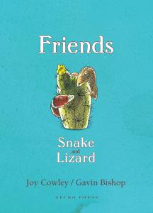 Friends: Snake and Lizard book, Joy Cowley, chapter book for kids, story about friendship