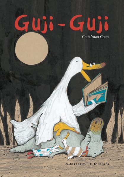 Guji-Guji book, Chih-Yuan Chen, picture book for kids, book about family