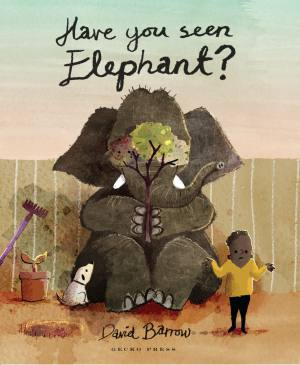 Have you seen elephant? book, David Barrow, Picture book for kids, book about playing hide and seek