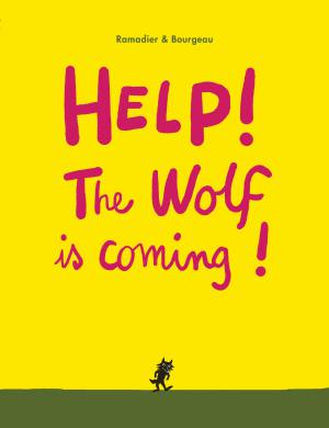 Help! the wolf is coming book, Cedric Ramadier, Vincent Bourgeau, interactive boardbook for toddlers
