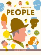 People book, Blexbolex, picture book for kids, book about people