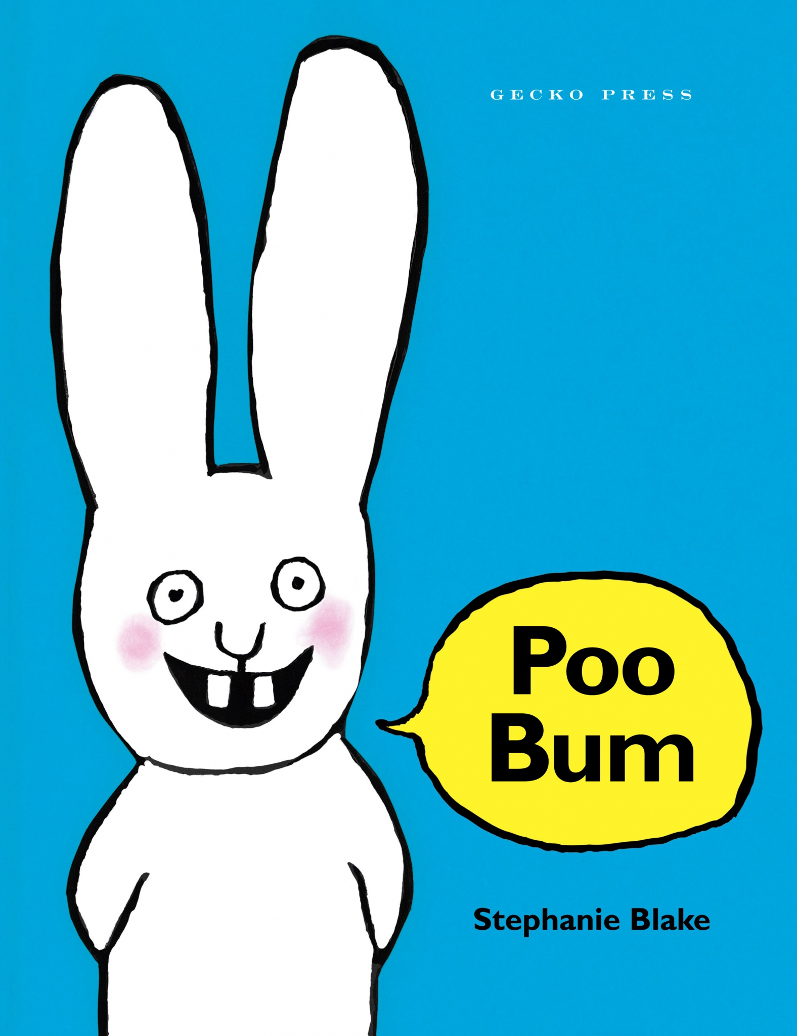 Poo bum book, Stephanie Blake, Book about a rabbit, picture book for kids