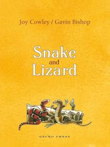 Snake and Lizard book, Joy Cowley, Gavin Bishop, book about friendship, chapter book for kids