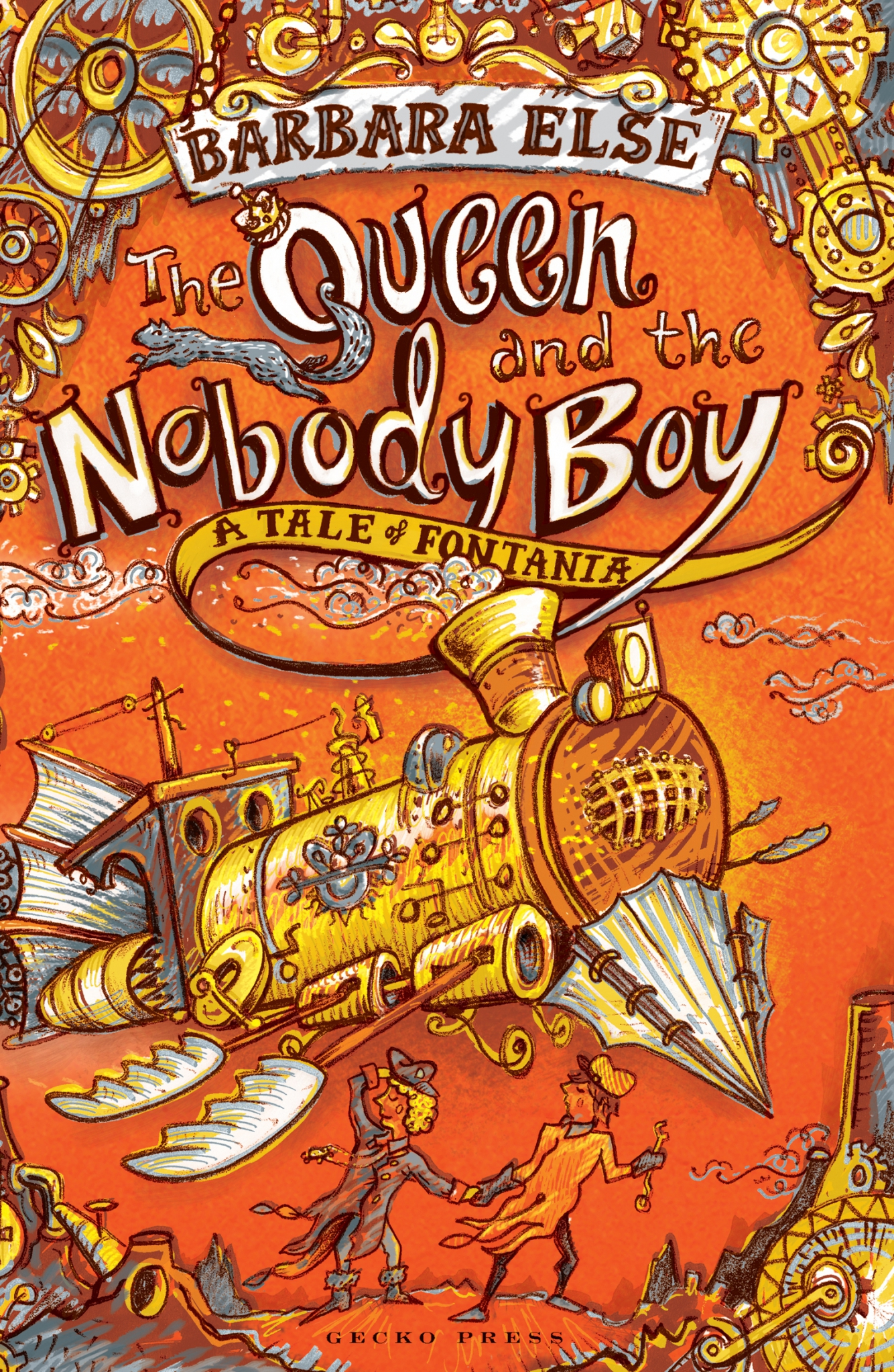 The Queen and the nobody boy book, Barbara Else, novel for kids, Tales of Fontania quartet