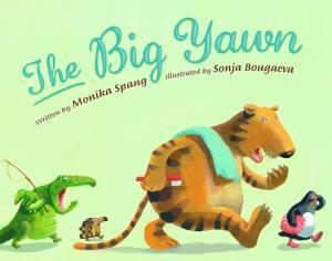 The Big Yawn book, Monika Spang, Sonja Bougaeva, picture book for preschoolers