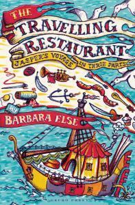 The travelling restaurant book, Barbara Else, novel for kids, Tales of Fontania quartet