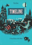 timeline book, Peter Goes, illustrated history book, history book for kids