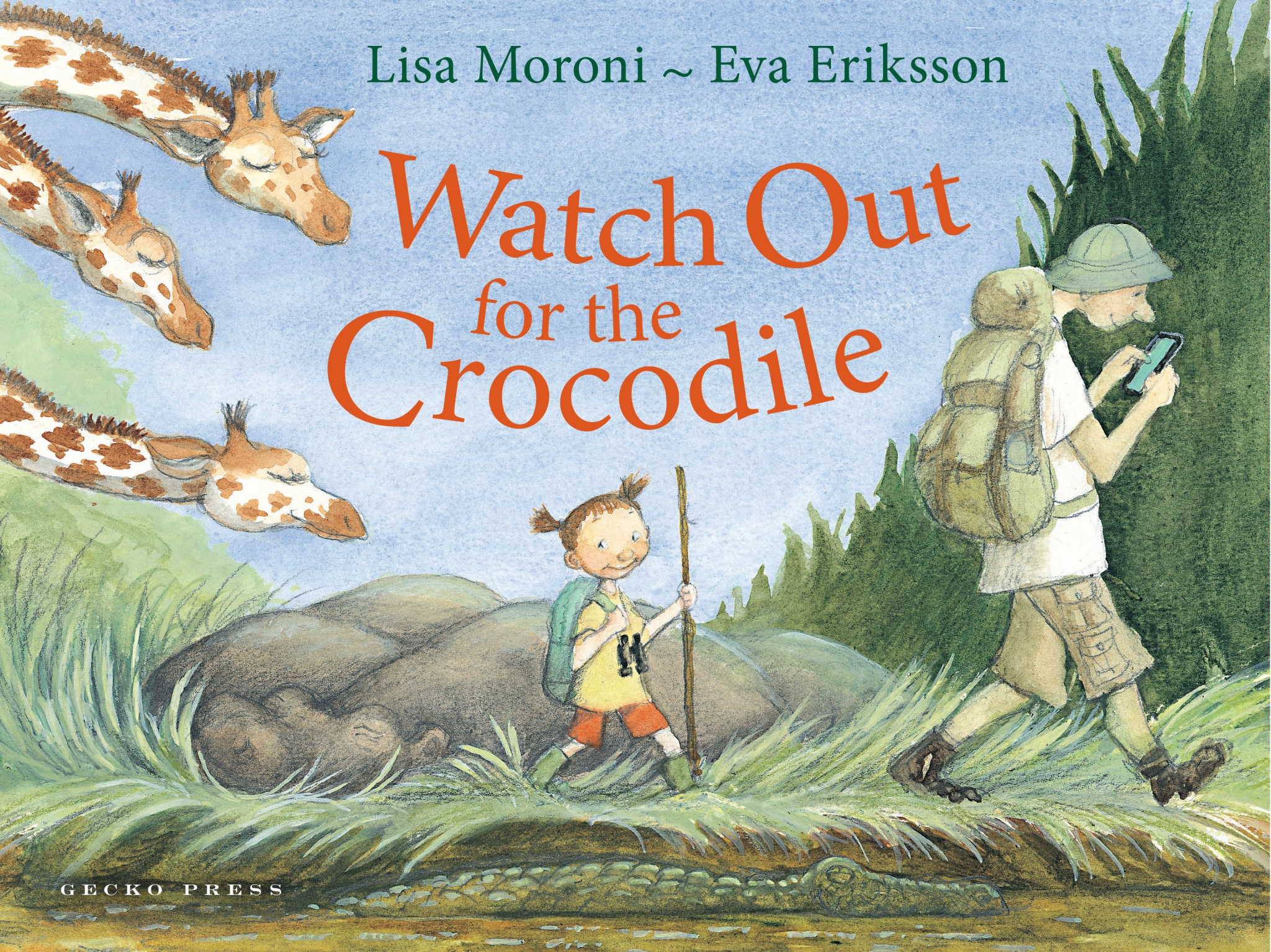 Watch out for the Crocodile book, Lisa Moroni, Eva Eriksson, picture book for kids