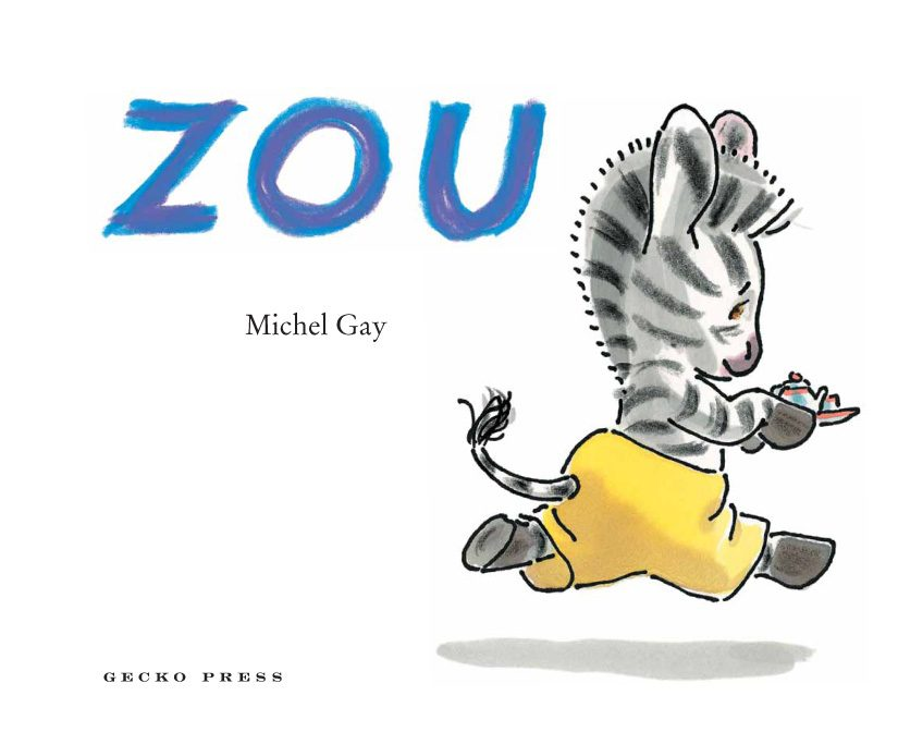 Zou book, Michel Gay, book for preschoolers