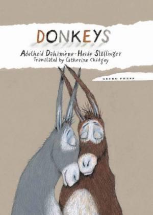 Donkeys book, Adelheid Dahimene, Heide Stollinger, picture book for kids, a story of love