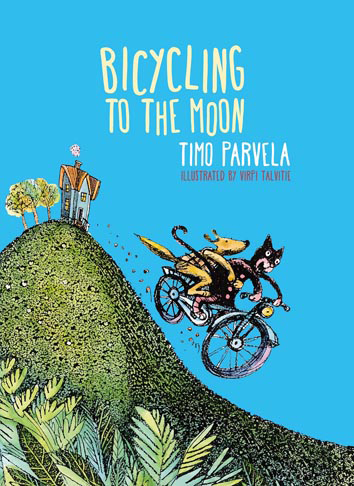 Bicycling to the moon book, Timo Parvela, Virpi Talvitie, chapter books for kids