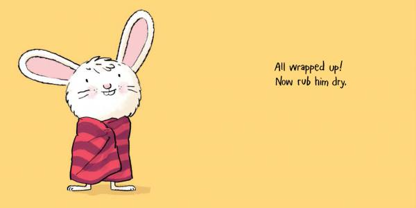 Image from Bathtime for Little Rabbit by Jörg Mϋhle