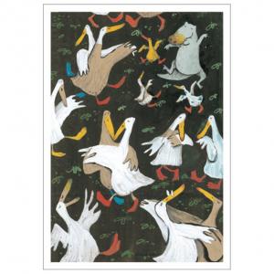 Dancing ducks Gecko Press gift card