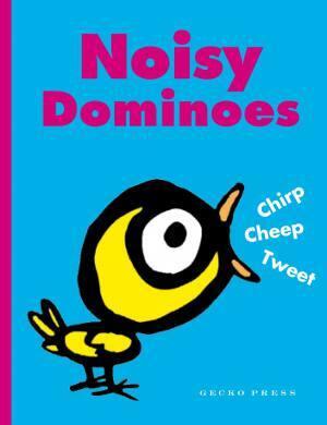 Noisy Dominoes Box Cover Gecko Press