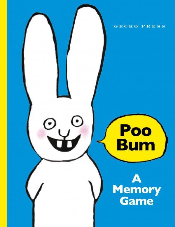 Poo Bum Memory Game cover Gecko Press