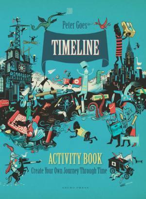 Timeline Activity Book cover Gecko Press