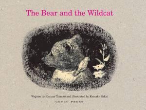 Bear and the wildcat Gecko Press Komako Sakai