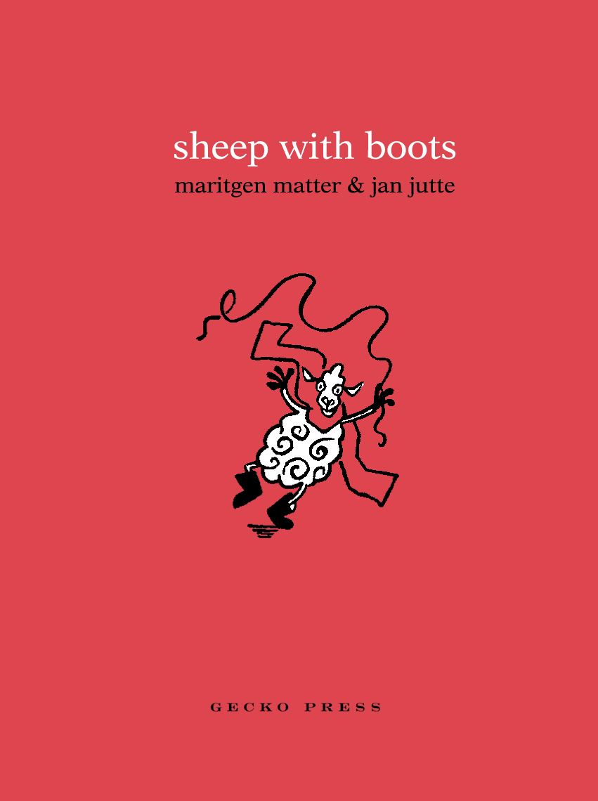 Sheep with Boots cover Gecko Press