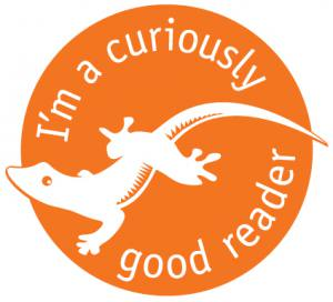 curiously good reader badge from Gecko Press