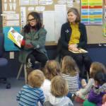 Reading aloud Jenny Bornholdt and Alexandra Tylee