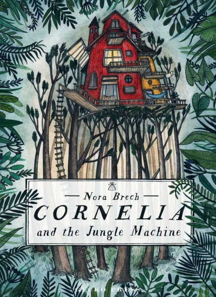 Cornelia and the Jungle Machine cover rough