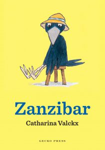 Zanzibar by Catharina Valckx. An early chapter book published by Gecko Press