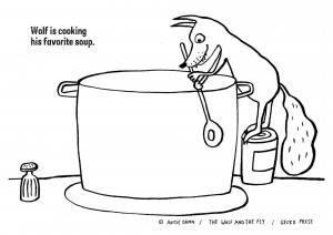 Wolf soup activity sheet