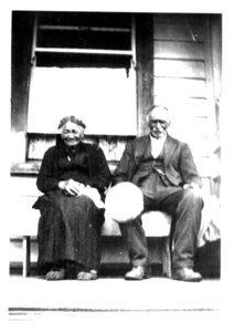 Benjamin MacKay and his sister Catherine