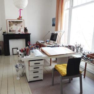 Catharina Valckx's studio