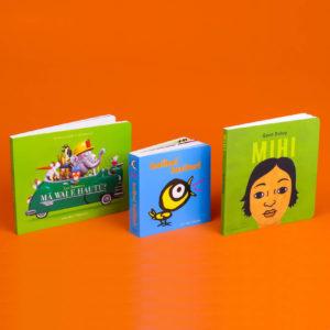 te reo Māori book pack covers
