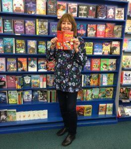 Ruth at Children's Bookshop